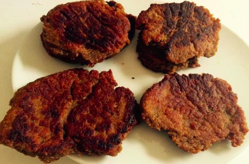 Steaks végétaux